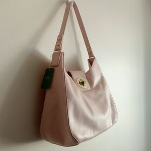 NWT Kate Spade large leather shoulder bag, Auth